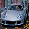 Autumn Leaves Porsche