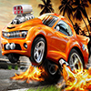 Racing Fire Car Jigsaw